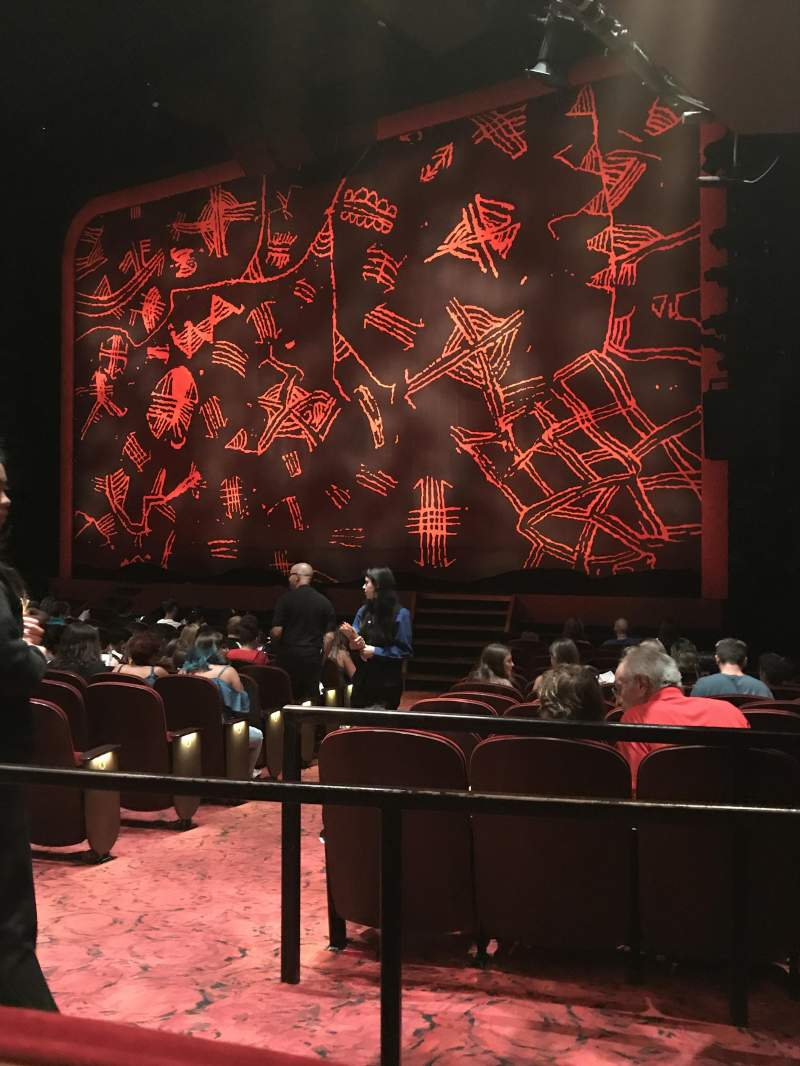 C9 Iphone Wallpaper Minskoff Theatre Section Right Orchestra Row P Seat 8