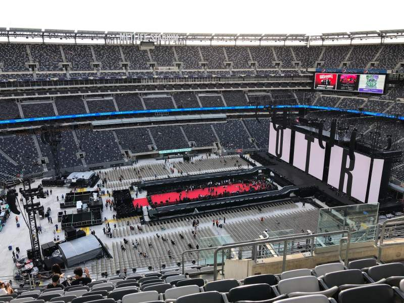 MetLife Stadium, section 316, home of New York Jets, New York Giants