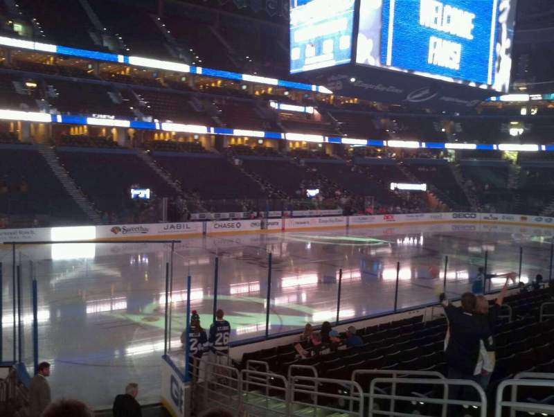 Tampa Bay Lightning Iphone Wallpaper Amalie Arena Section 120 Row M Seat 10 Tampa Bay