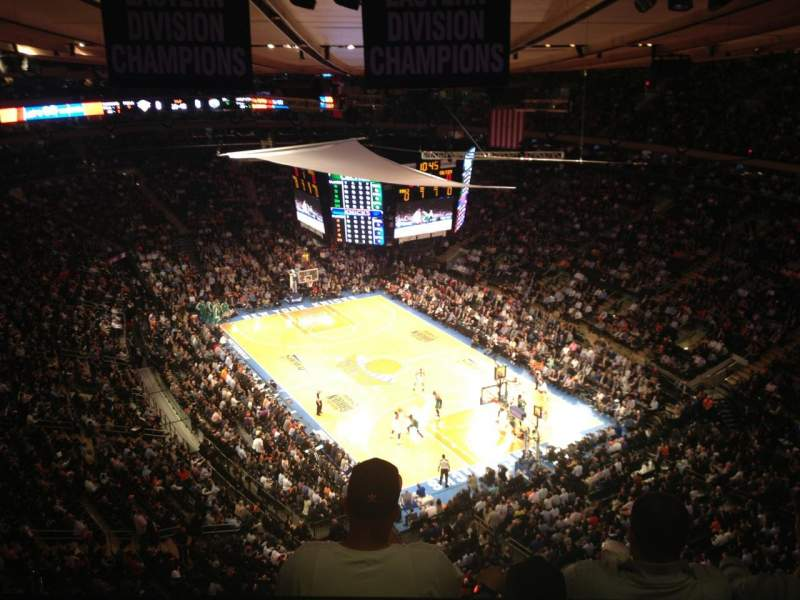 Knicks Iphone Wallpaper Madison Square Garden Section West Balcony Row Bs3 Seat