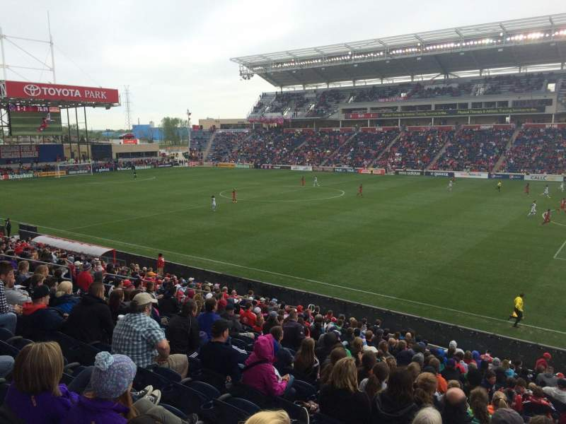 SeatGeek Stadium, home of Chicago Fire, Chicago Red Stars