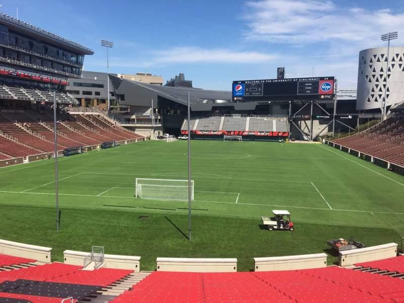 Nippert Stadium, section 113, row 32, seat 35 - FC Cincinnati