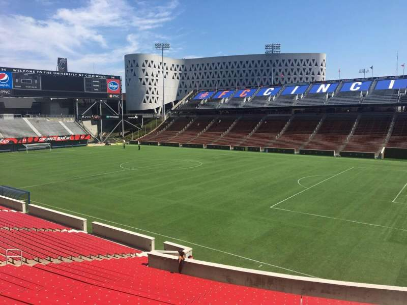 Nippert Stadium, section 118, row 32, seat 12 - FC Cincinnati
