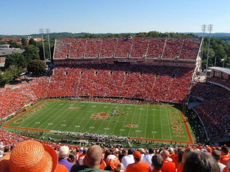 Clemson Tigers Iphone Wallpaper Memorial Stadium Clemson Home Of Clemson Tigers