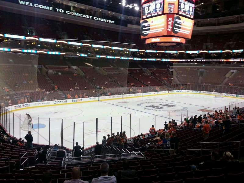 Philadelphia Flyers Wallpaper Iphone Wells Fargo Center Section 122 Row 21 Seat 5