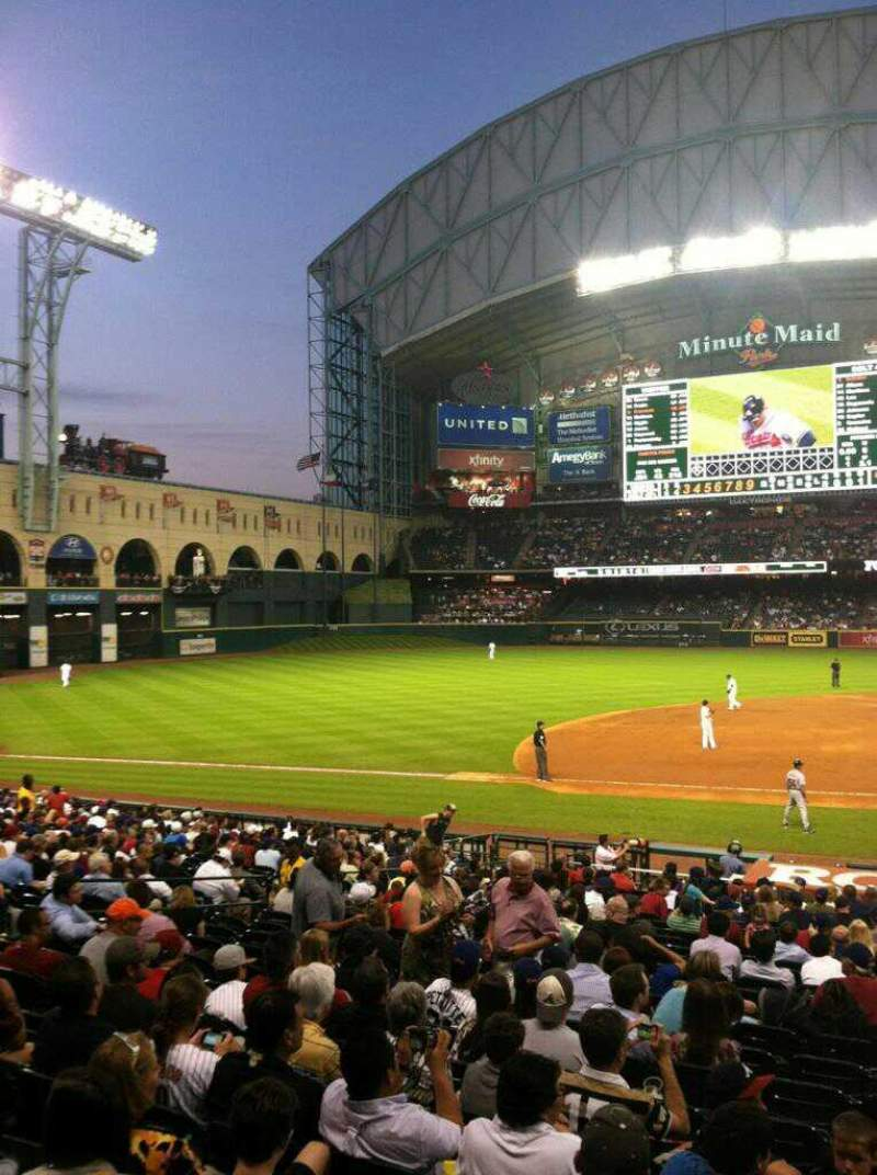 Seattle Mariners Wallpaper Iphone Minute Maid Park Section 112 Row 28 Seat 15 Houston