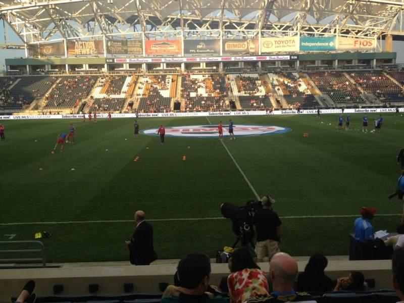 Atlanta United Fc Iphone Wallpaper Talen Energy Stadium Section 107 Row G Seat 12