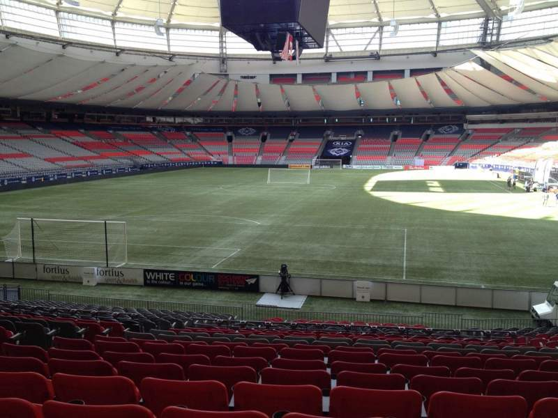 Atlanta United Fc Iphone Wallpaper Bc Place Section 226 Row U Seat 7 Vancouver Whitecaps