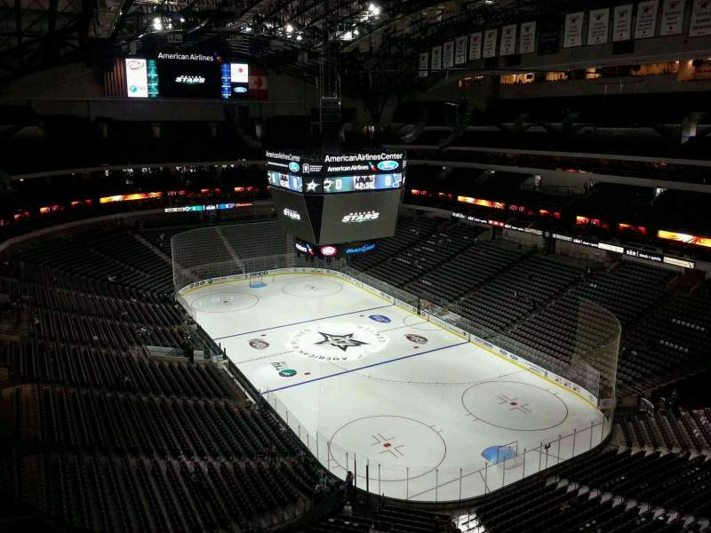 Dallas Stars Wallpaper Iphone American Airlines Center Section 321 Home Of Dallas