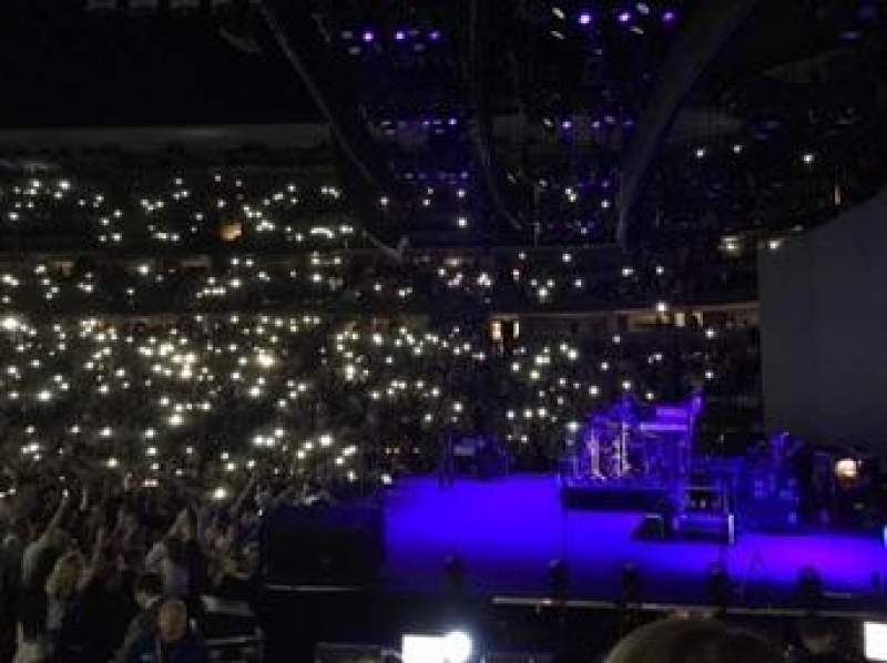 St Louis Blues Iphone Wallpaper Pepsi Center Section 144 Row 5 Seat 9 Fleetwood Mac