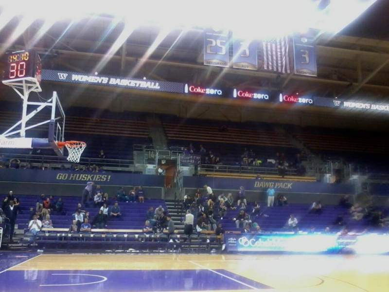 Alaska Airlines Arena at Hec Edmundson Pavilion - Interactive