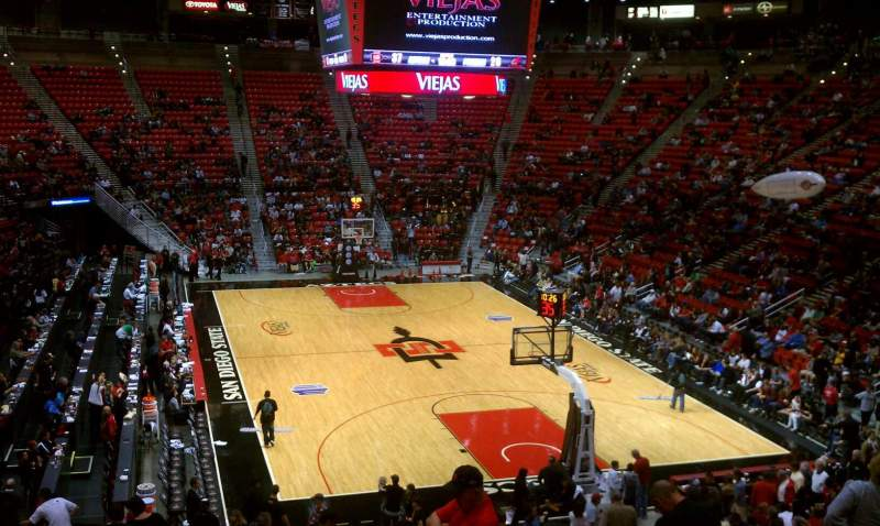 San Diego Iphone Wallpaper Viejas Arena Section V Home Of San Diego State Aztecs