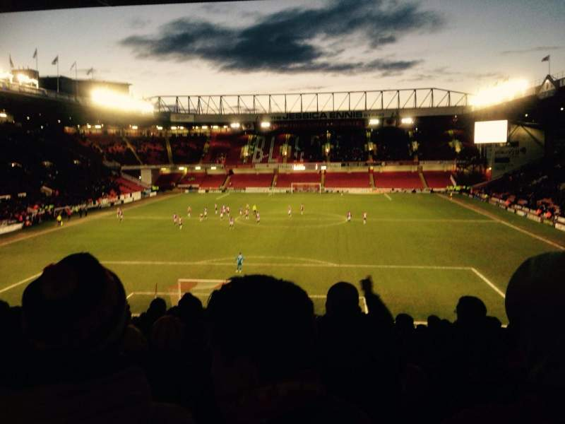 Sheffield United Iphone Wallpaper Bramall Lane Section Kop Stand Gangway E Row Qq Seat