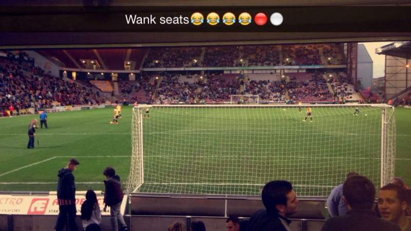 Sheffield United Iphone Wallpaper Valley Parade Section Lc Row L Seat 47 Bradford City