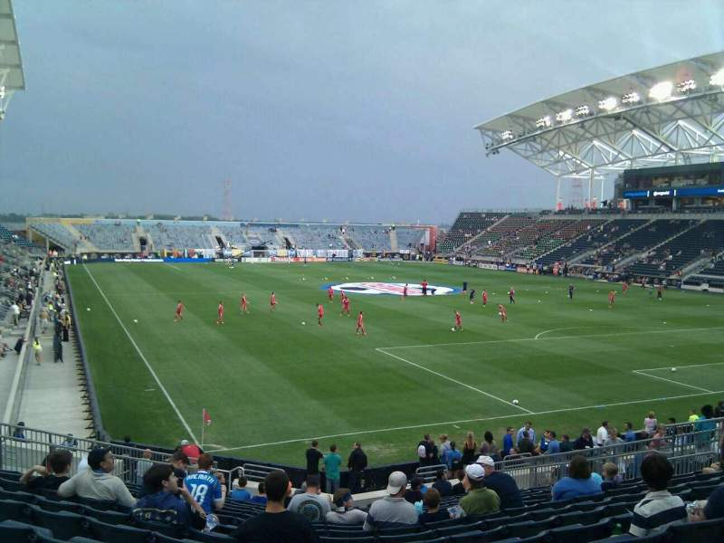 Atlanta United Fc Iphone Wallpaper Talen Energy Stadium Section 120 Row U Seat 20