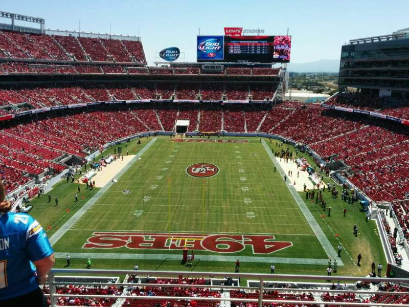 Iphone 49ers Wallpaper Levi S Stadium Section 303 Home Of San Francisco 49ers