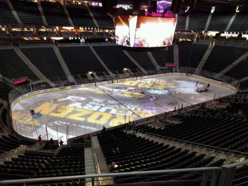 Colorado Avalanche Iphone Wallpaper T Mobile Arena Section 202 Row B Seat 5 Los Angeles