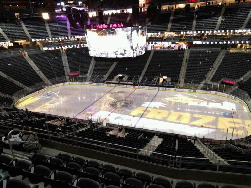 Colorado Avalanche Iphone Wallpaper T Mobile Arena Section 225 Row F Seat 9 Los Angeles