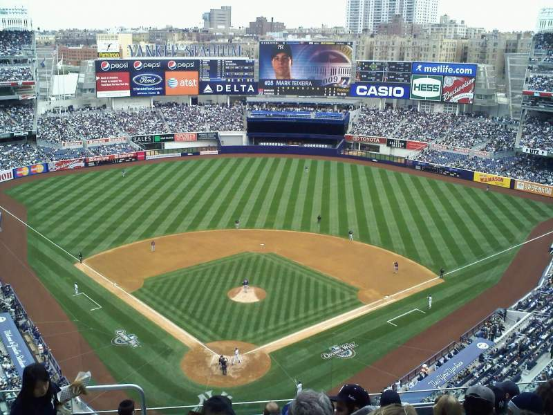 New York Yankees Wallpaper For Iphone 5 Yankee Stadium Section 420b Home Of New York Yankees