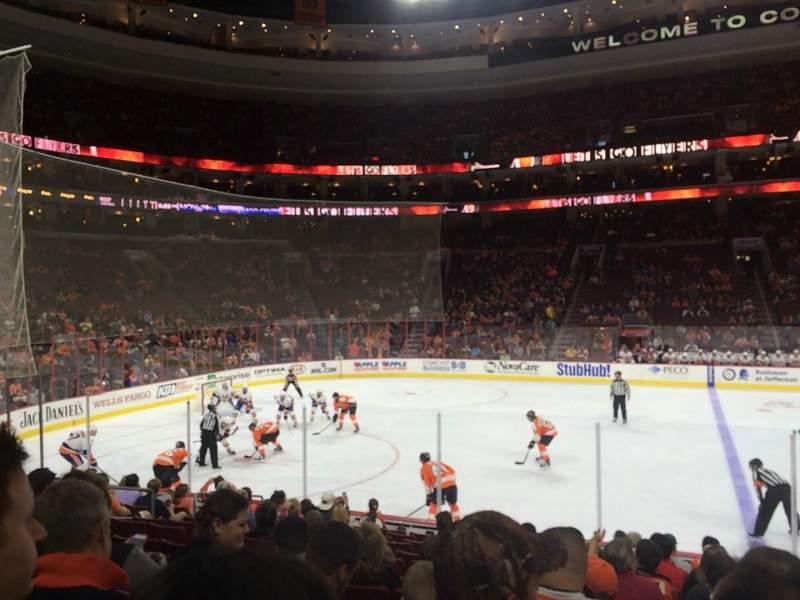 Philadelphia Flyers Wallpaper Iphone Wells Fargo Center Section 112 Row 13 Seat 14