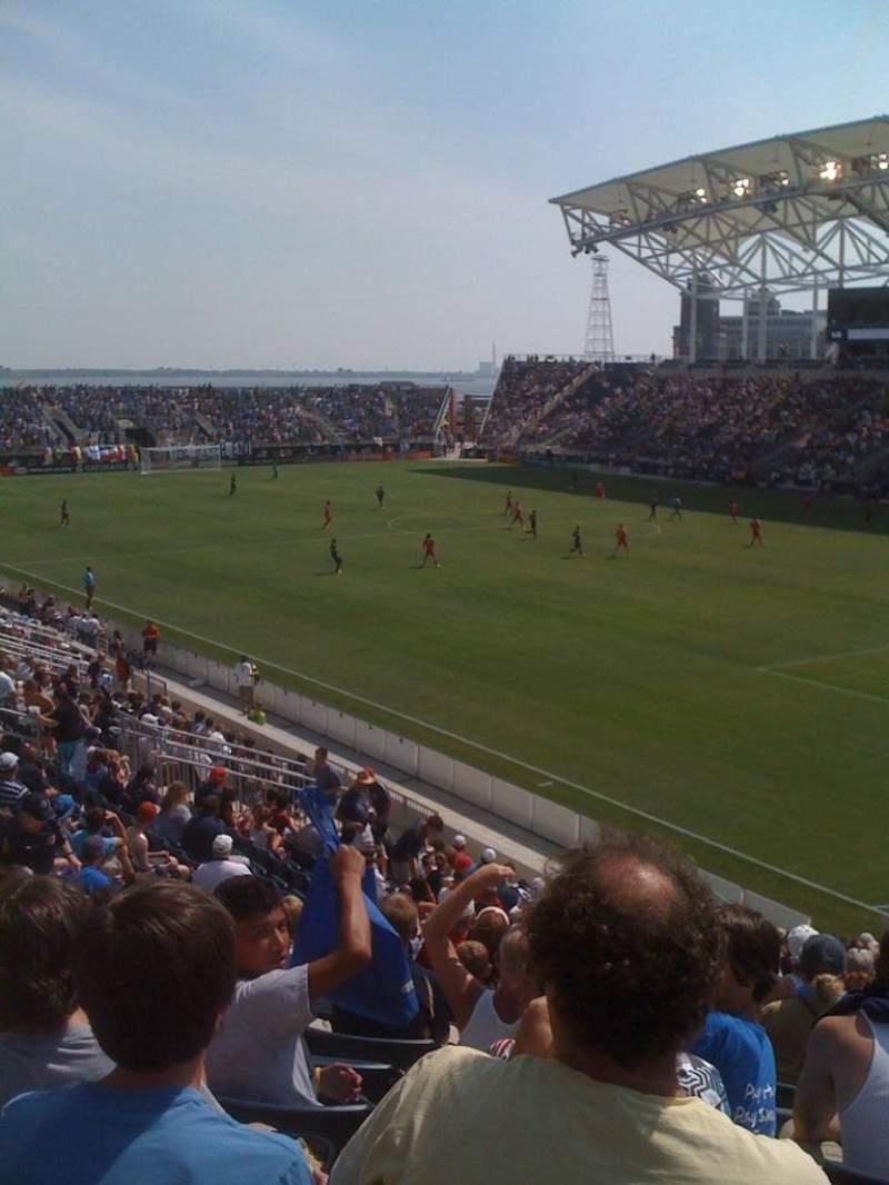 Atlanta United Fc Iphone Wallpaper Talen Energy Stadium Secci 243 N 121 Fila Z Asiento 17