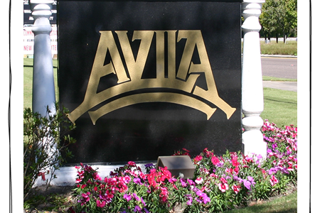Avila Florida Sign