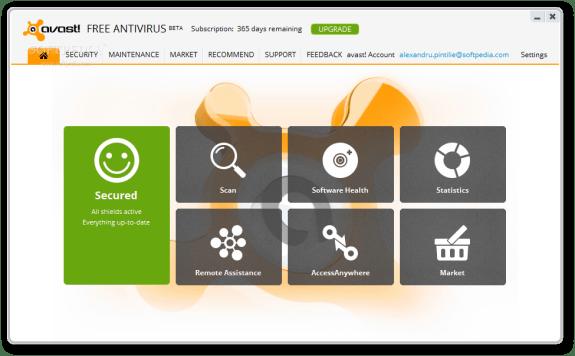 Avast-Home-Edition Beta 8