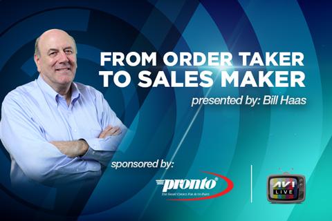 LS-40 From Order Taker to Sales Maker - AVI OnDemand - order taker