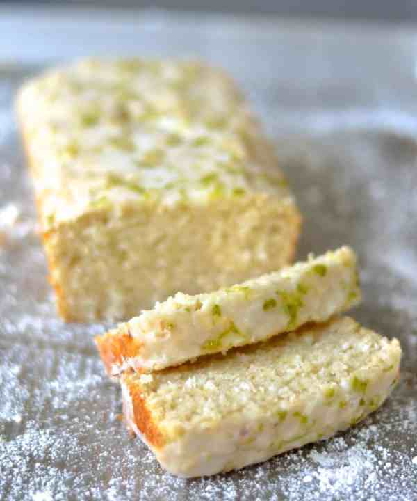... this light & delicious Lime & Coconut Cake with a sticky, zesty g...