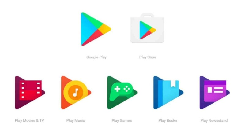 Google Play icônes
