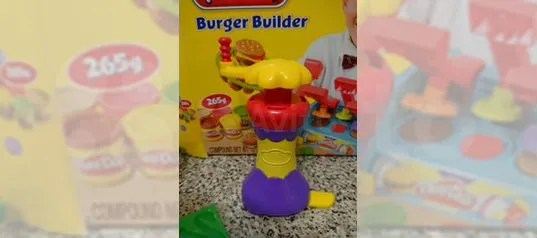 Play Doh Küche Play Doh Burger Builder