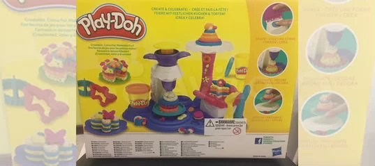 Play Doh Küchenparty Пластелин Play Doh Kuchen Party