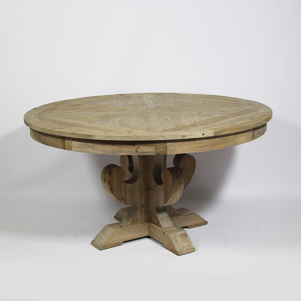 Table Ronde Massif Table Ronde Bois Massif Design En Image