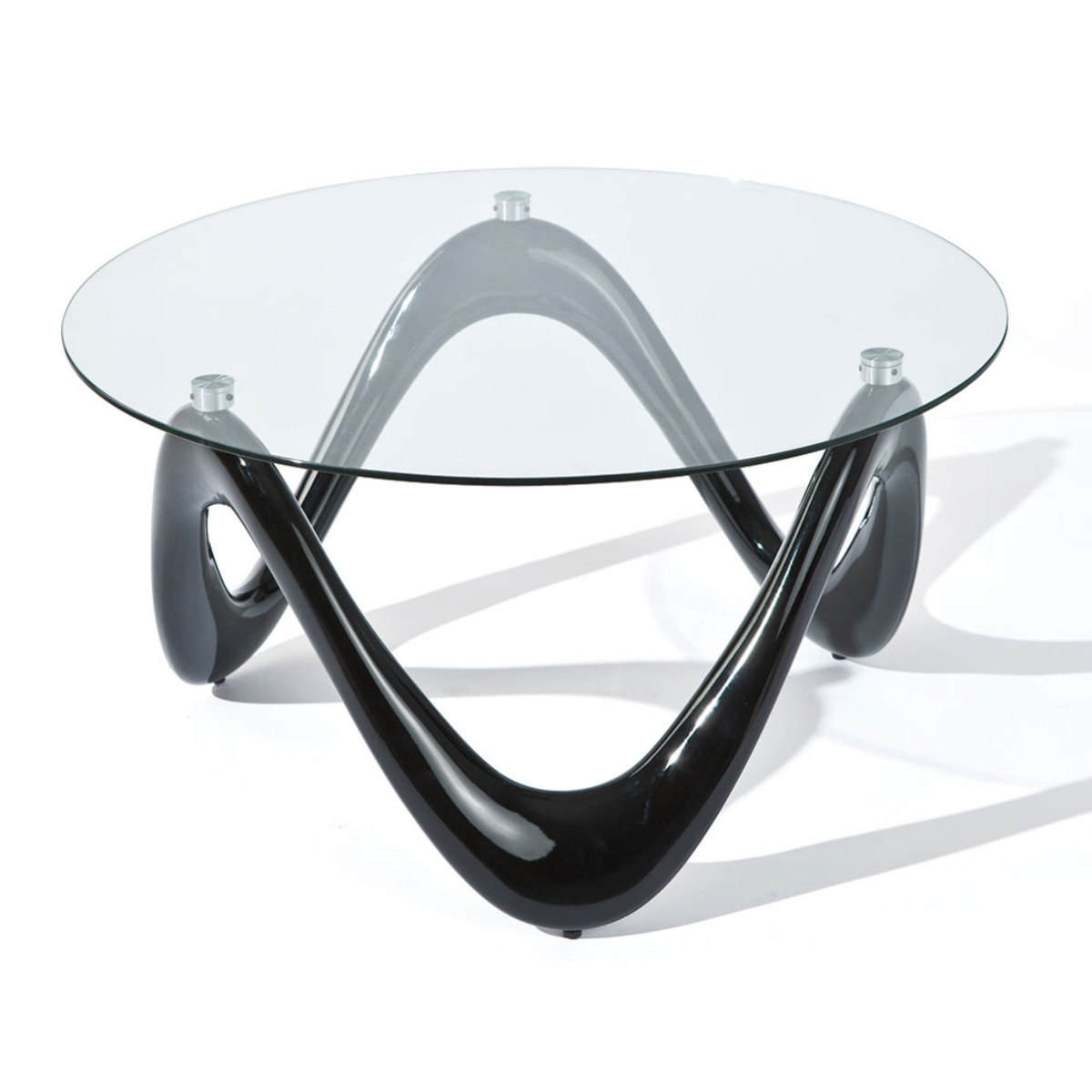 Table Basse Ronde En Verre Design Table Basse Ronde En Verre Design En Image