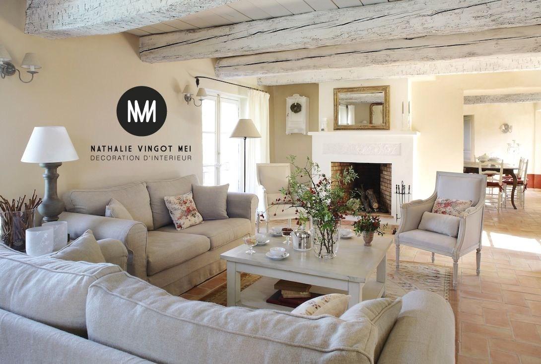 Décoration Chambre Rustique | Deco Maison De Campagne Rustique ...