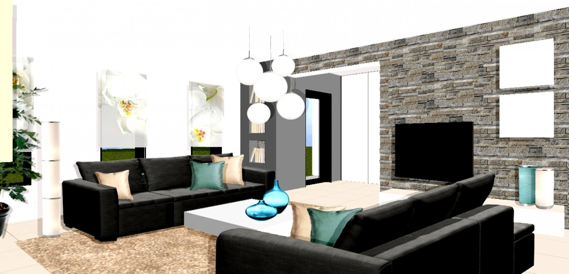Décoration D\'intérieur Salon Design