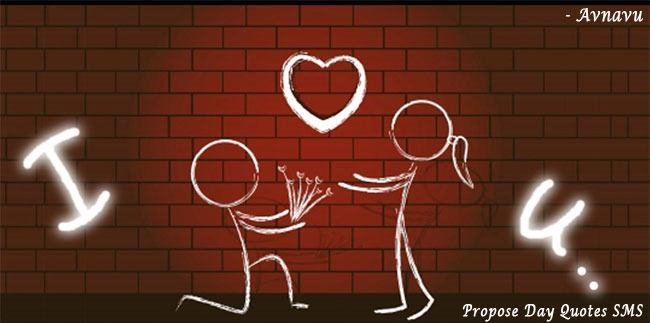 Girl Propose To Boy Wallpaper With Quotes Propose Day Short Hindi English Wish Quotes Sms