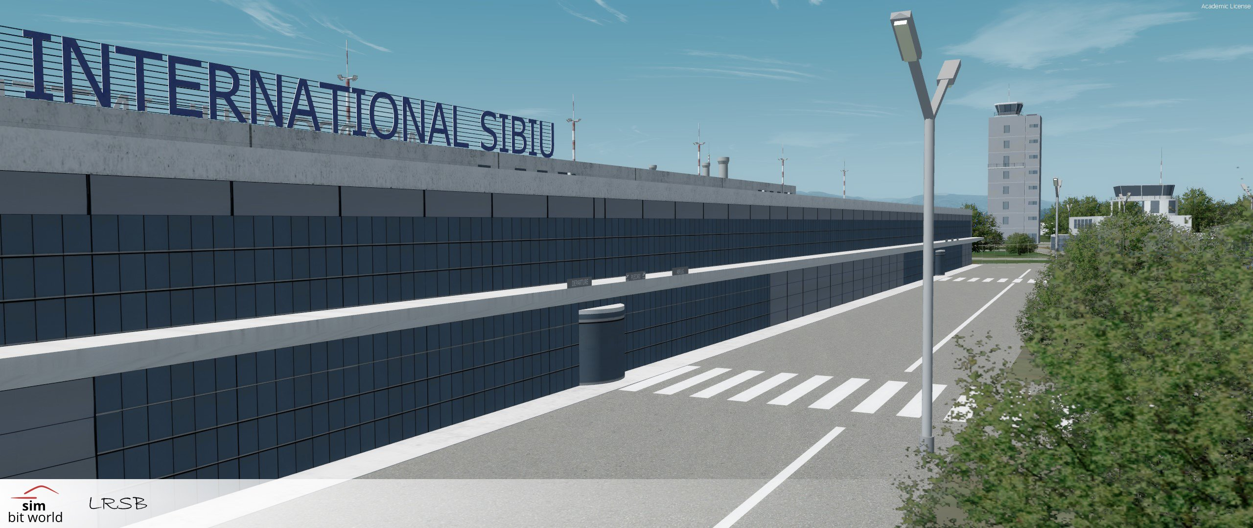 Avsim Library Sim Bit World Sibiu International Product