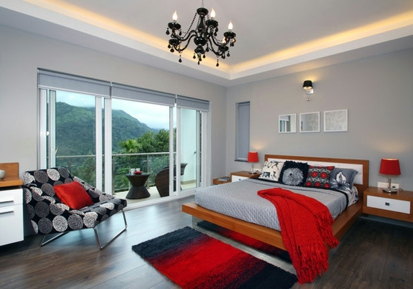 Schlafzimmer Orange Fashion Bedroom Wall – Color Combination And Color Design ...