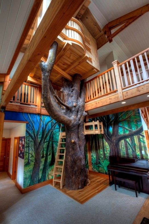 Baby Chair In Pakistan Indoor Tree House – 10 Cool Ideas For Kids Interior