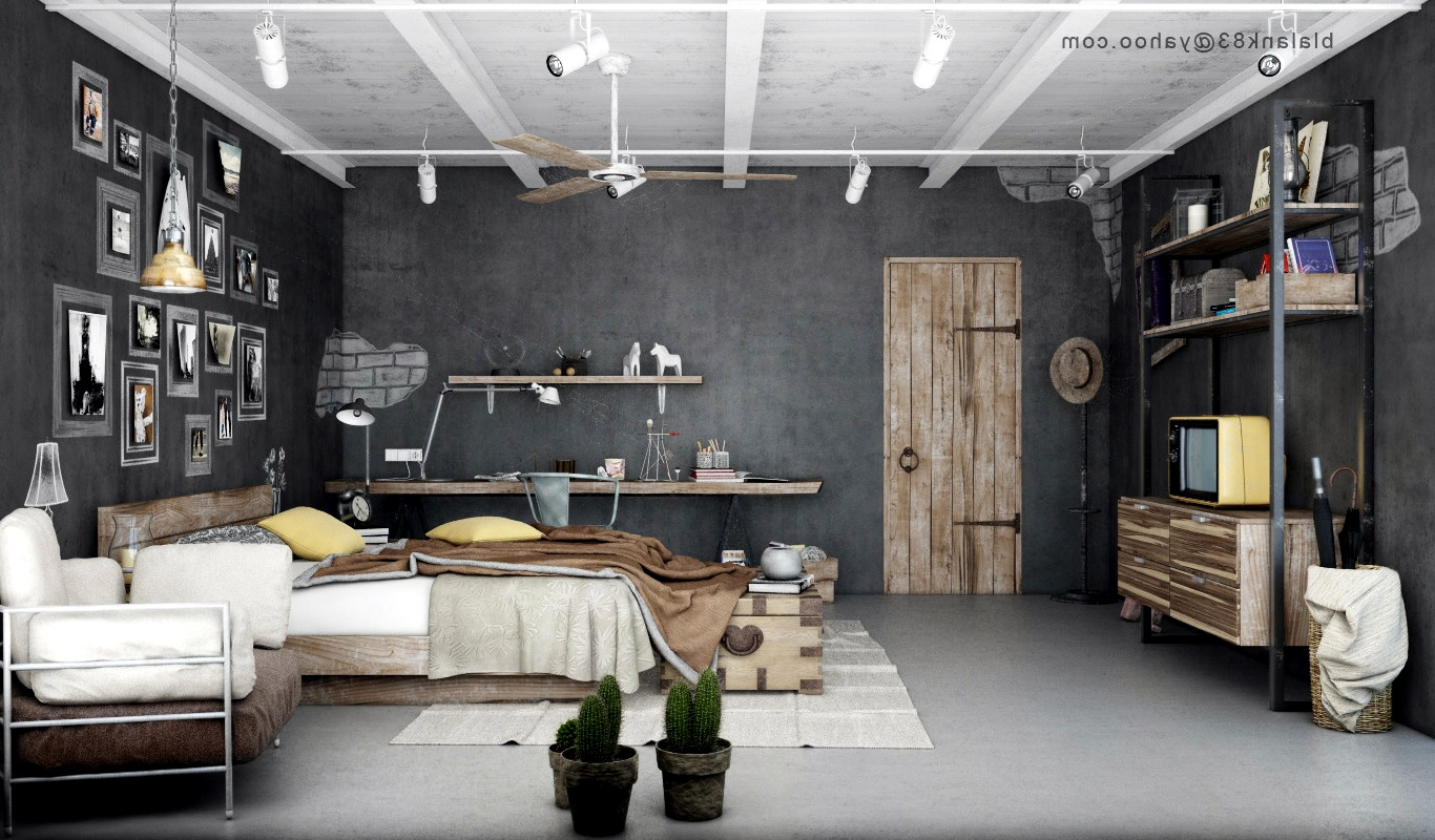 Schlafzimmer Industrial Industrial Bedrooms With Divine Detail | Interior Design