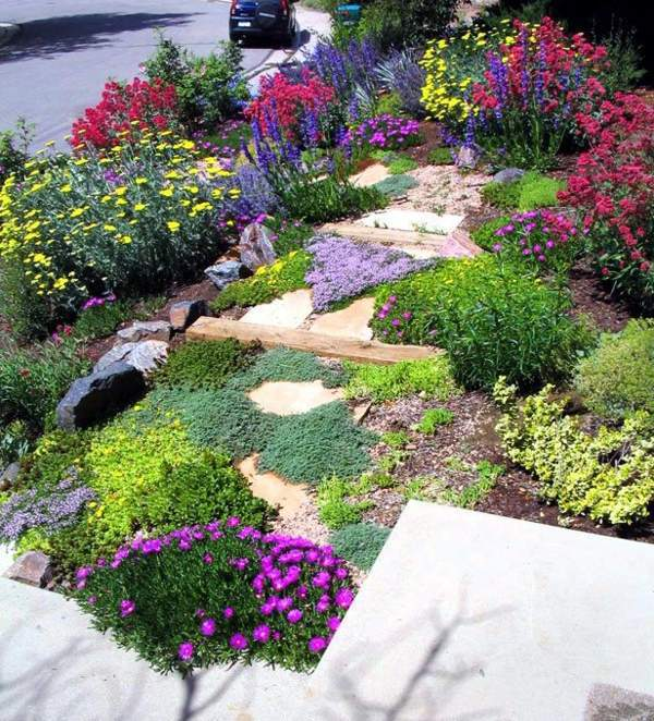 Hanglage Bepflanzen Landscaping On A Slope – How To Make A Beautiful Hillside