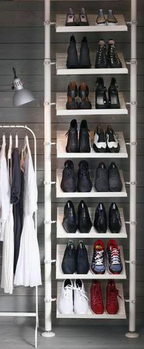 Diy Einrichtungsideen A Diy Shoe Rack May Seem Interesting And Chic | Interior Design Ideas | Avso.org
