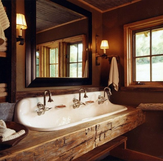 Badezimmermöbel Massivholz Rustic Bathroom Ideas – Would You Set Up Your Bathroom In