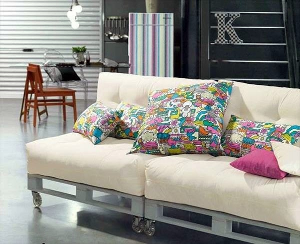 Sofa De Palets Interior 45 Diy Solid Wood Furniture From Pallets | Interior Design