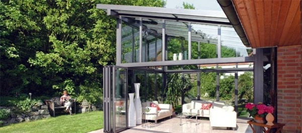 Bungalow Aufstocken Balcony Or Terrace Glass Conservatory – Build On A
