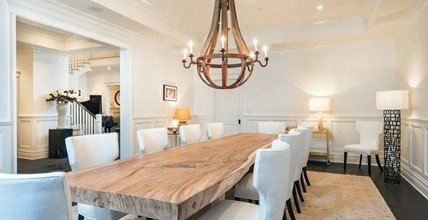 Esszimmer Modern Rustikal Dining Room Design – Mix Traditional Style With