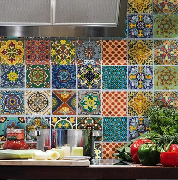 Klebefolien Für Küchenfliesen Kitchen Wall Tiles – The Rear Wall Plays An Important Role
