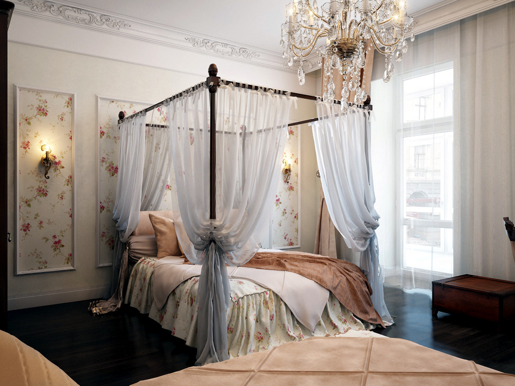 Betthimmel Schlafzimmer Bedroom With Traditional Elegance Interior Design Ideas