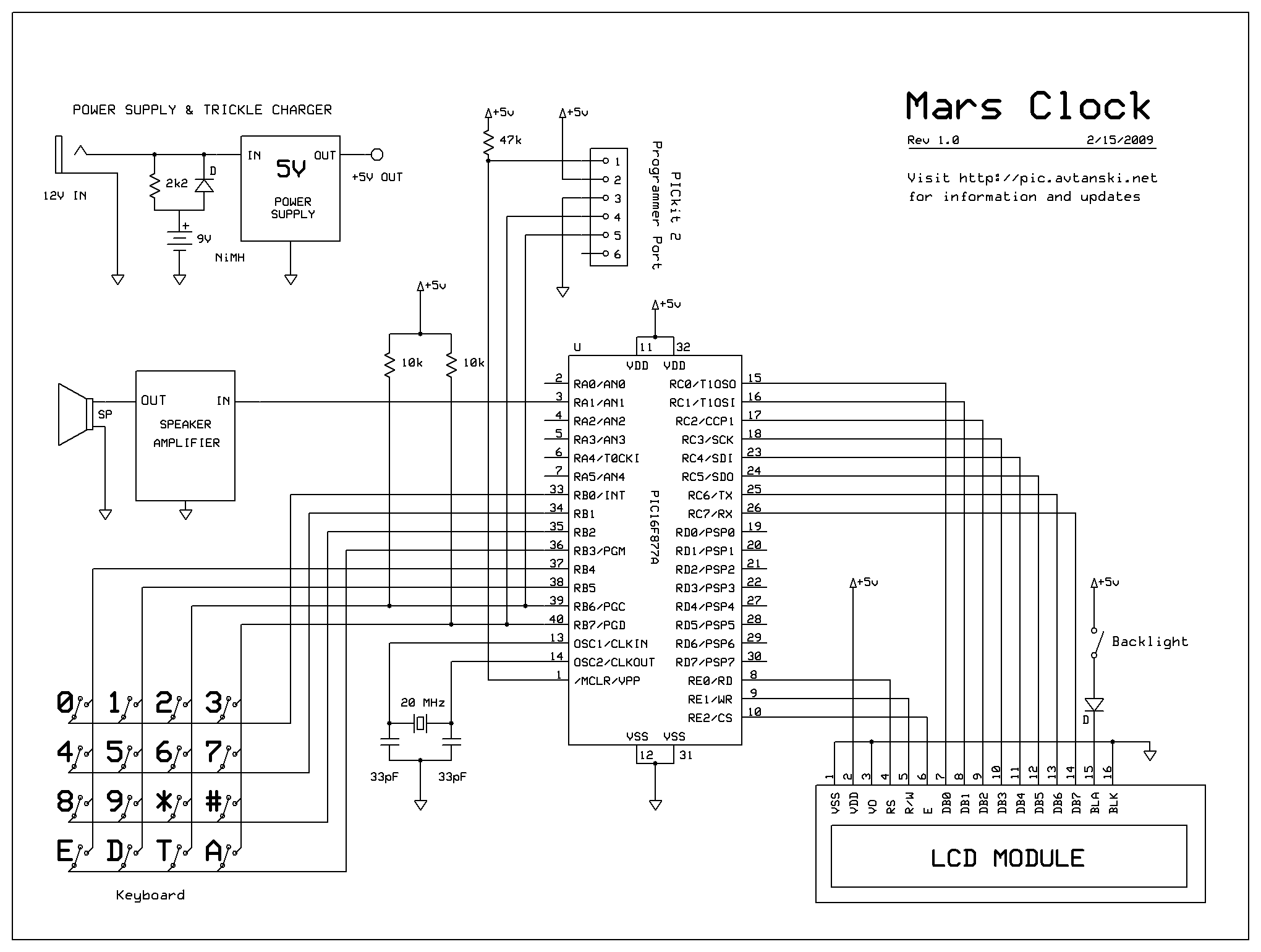 original pickit 2 microcontroller programmer